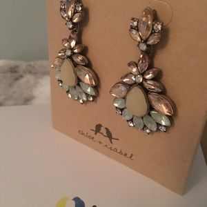 Chloe And Isabel statement earrings NWT